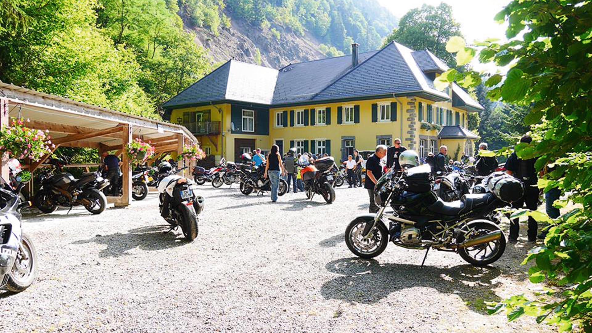 Moto-Hotel-Restaurant Col de Bussang