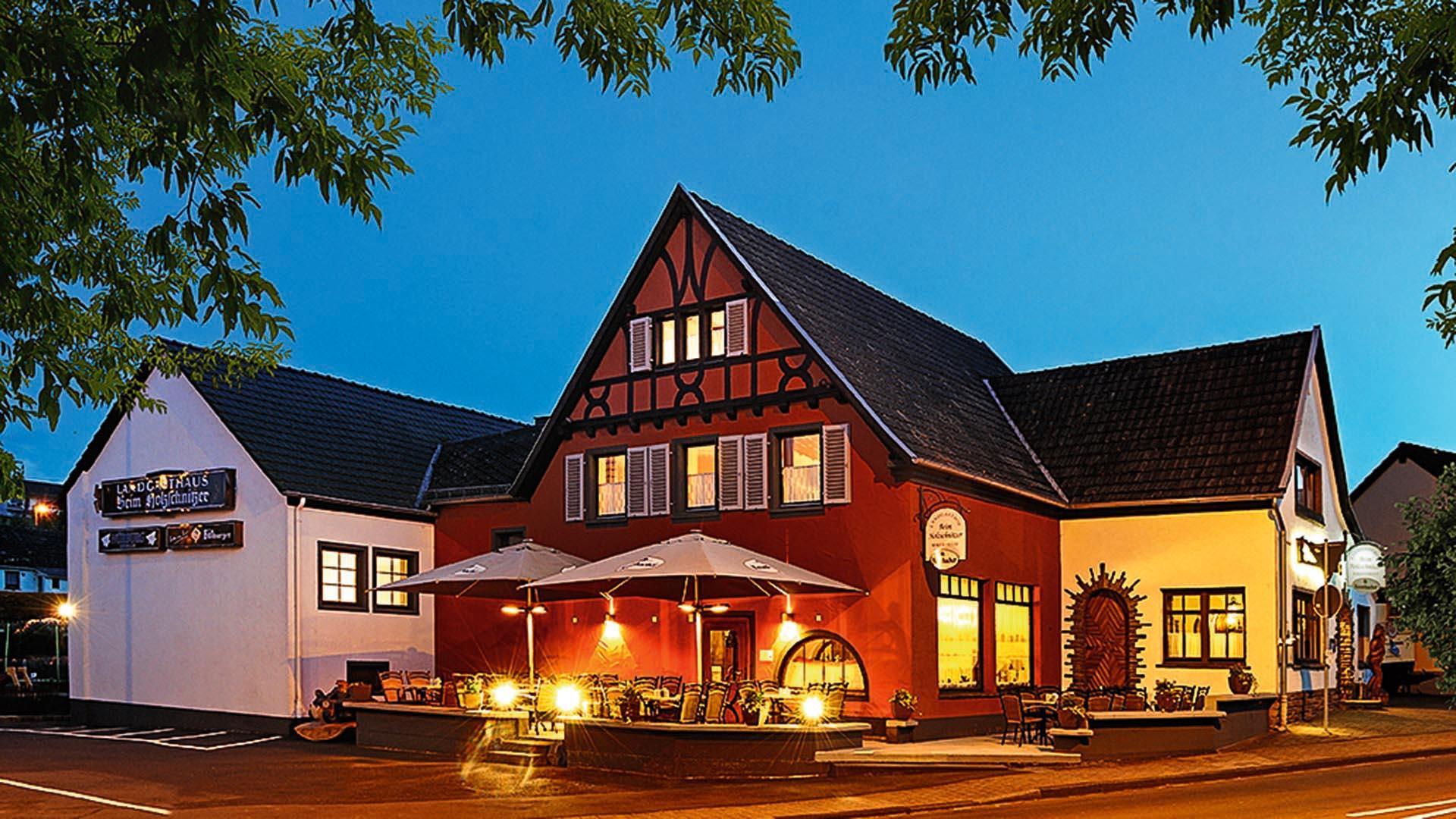 Landgasthof & Bikertreff Harmony beim Holzschnitzer