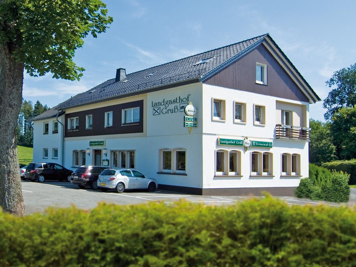 Landgasthof gru for Appoggiarsi all aggiunta al garage
