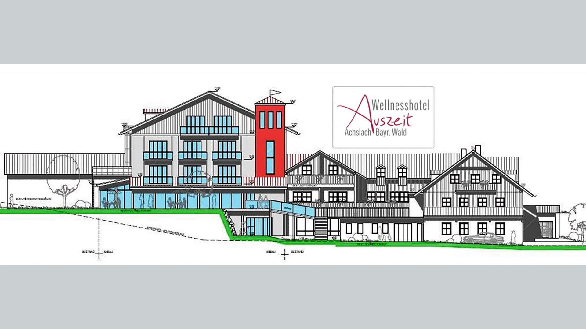 Landhotel forellenhof for Appoggiarsi all aggiunta al garage