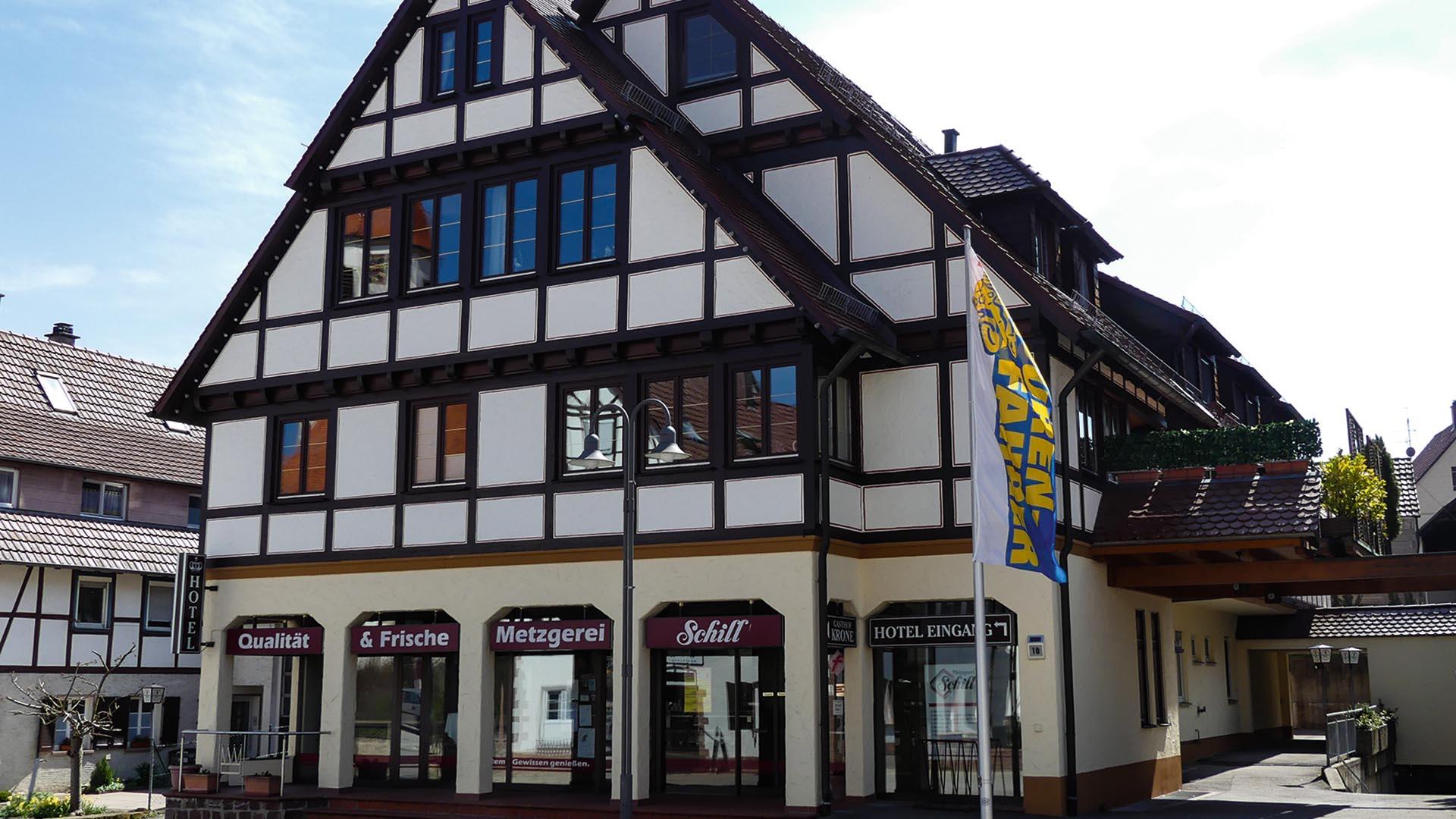Hotel Restaurant Krone Marktplatz Deckenpfronn