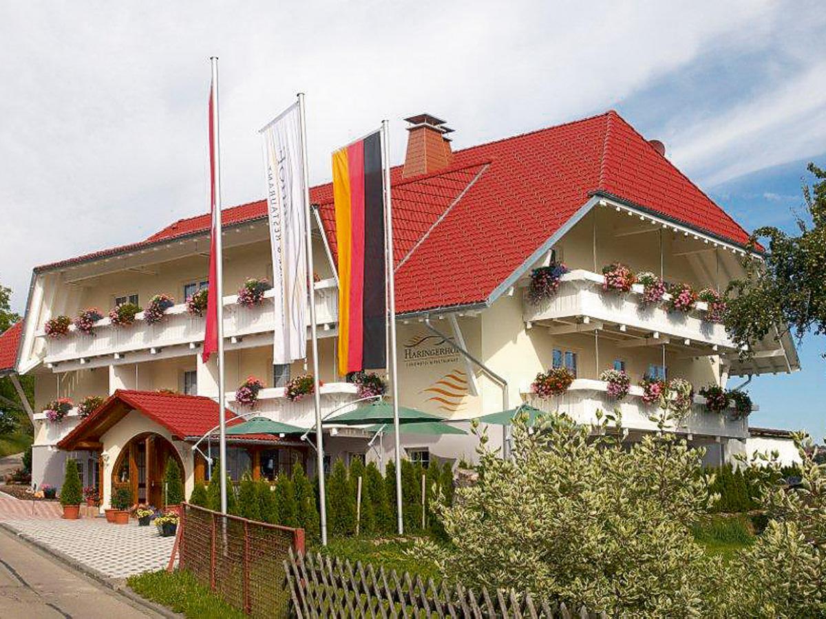 Landhotel haringerhof for Appoggiarsi all aggiunta al garage