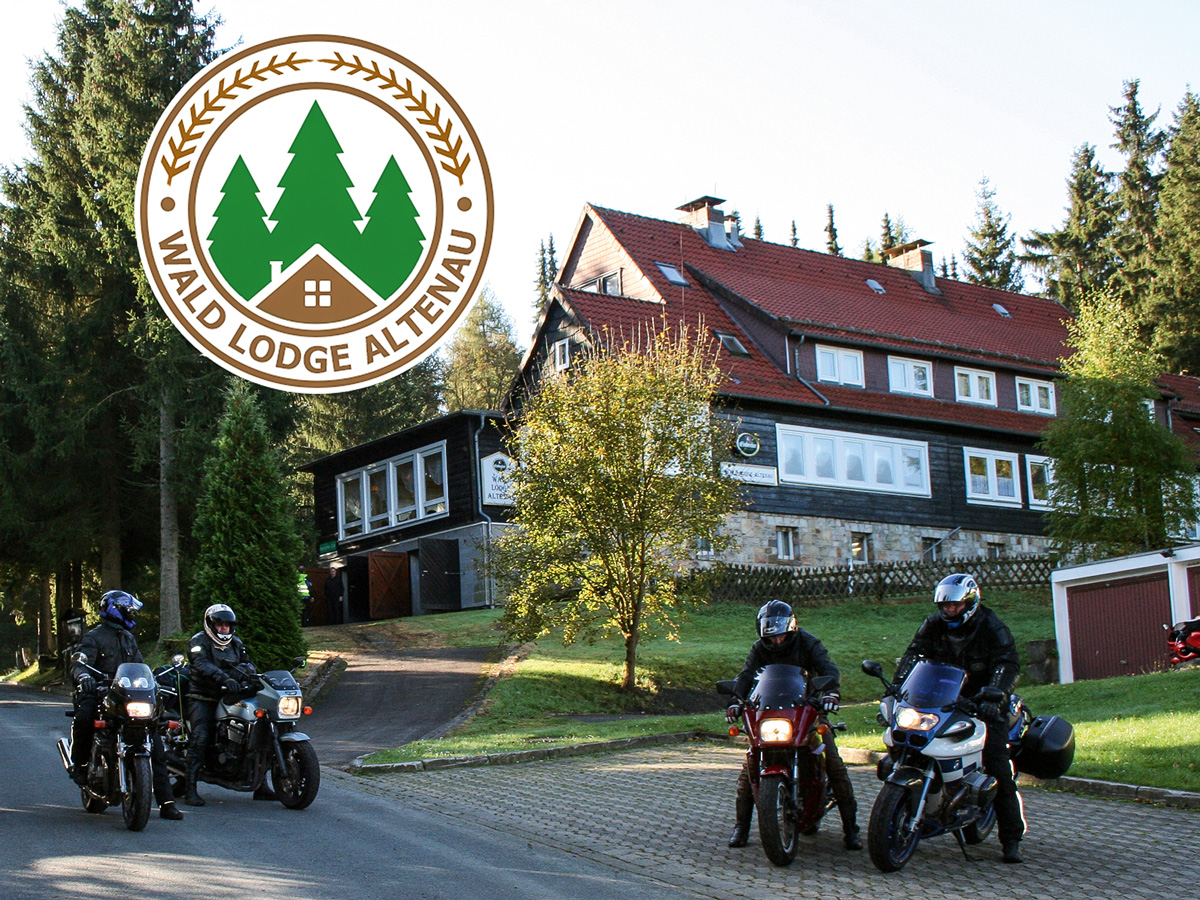 Wald lodge altenau for Appoggiarsi all aggiunta al garage
