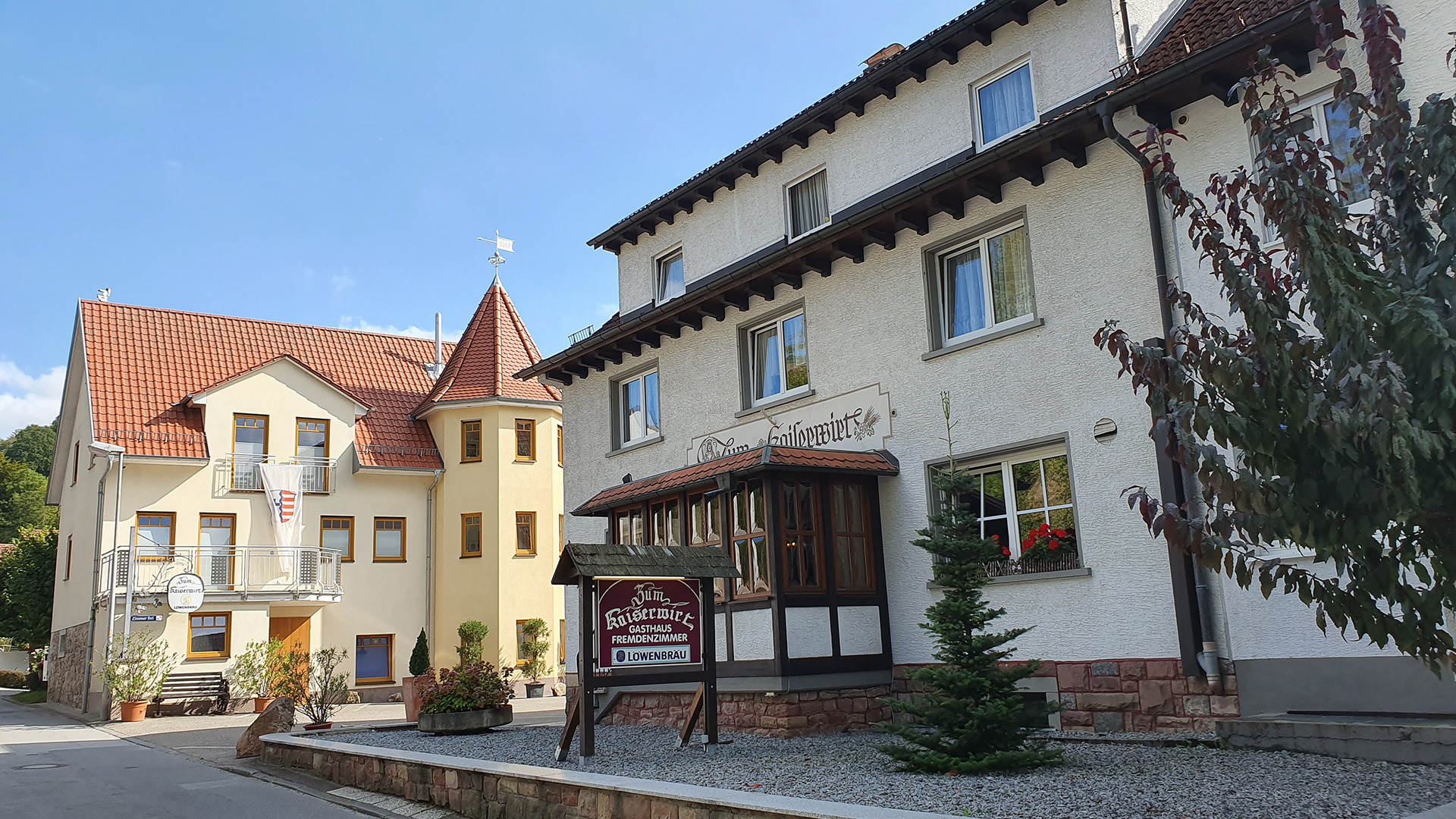 Hotel Pension Waldblick Wasserfall